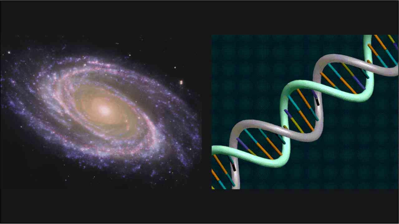 Materie bestaat uit oneindig veel spiralen