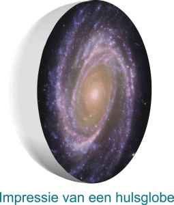 Ongelooflijke grootte van sterrenstelsels